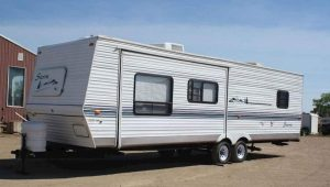 Forest Rever Travel Trailer