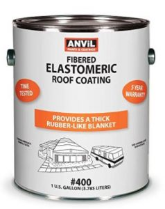 Anvil 400 Mobile Home and RV Roof Coating