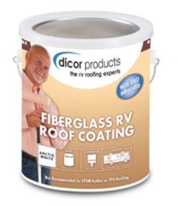 Dicor RPFRC 1 Fiberglass RV Roof Coating