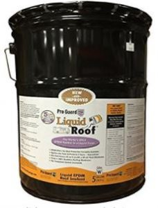 Liquid Roof RV Roof Repair EPDM Liquid Coating