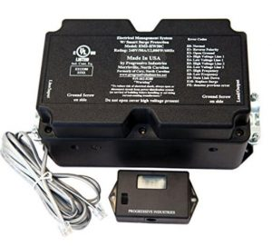 Progressive Industries HW50C Hardwired EMS Surge & Electrical Protection- 50 Amps