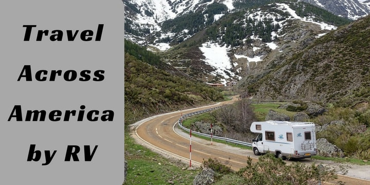 Travel across America by RV