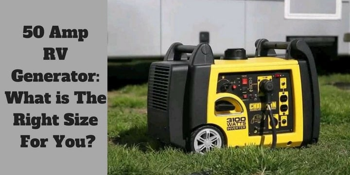 Image result for 50 amp rv generator