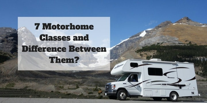 Motorhome Classes