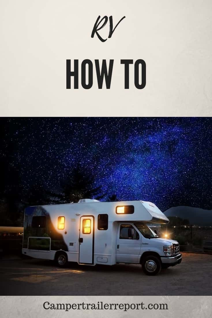 How to winterize RV without antifreeze?