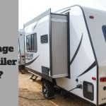 What is the average travel trailer height?