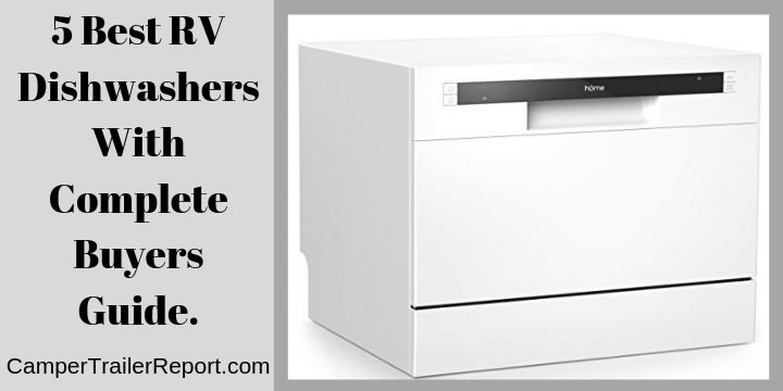 5 Best RV Dishwashers With Complete Buyers Guide.