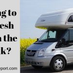 How long to keep fresh water in the RV tank?