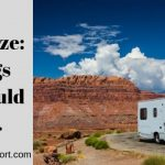 RV Antifreeze: 4 Things You Should Know.