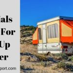 15 Essentials to Have For a Pop-Up Camper