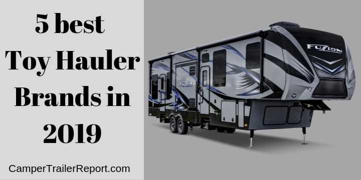 5 Best Toy Hauler Brands