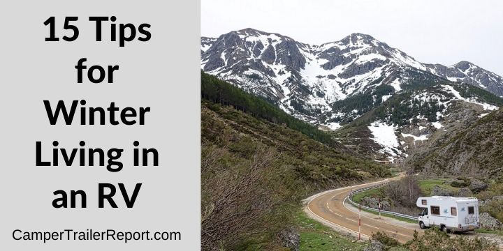 15 Tips for Winter Living in an RV
