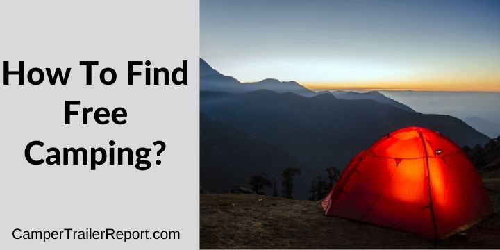 How To Find Free Camping