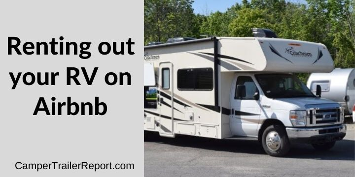 Renting out your RV on Airbnb